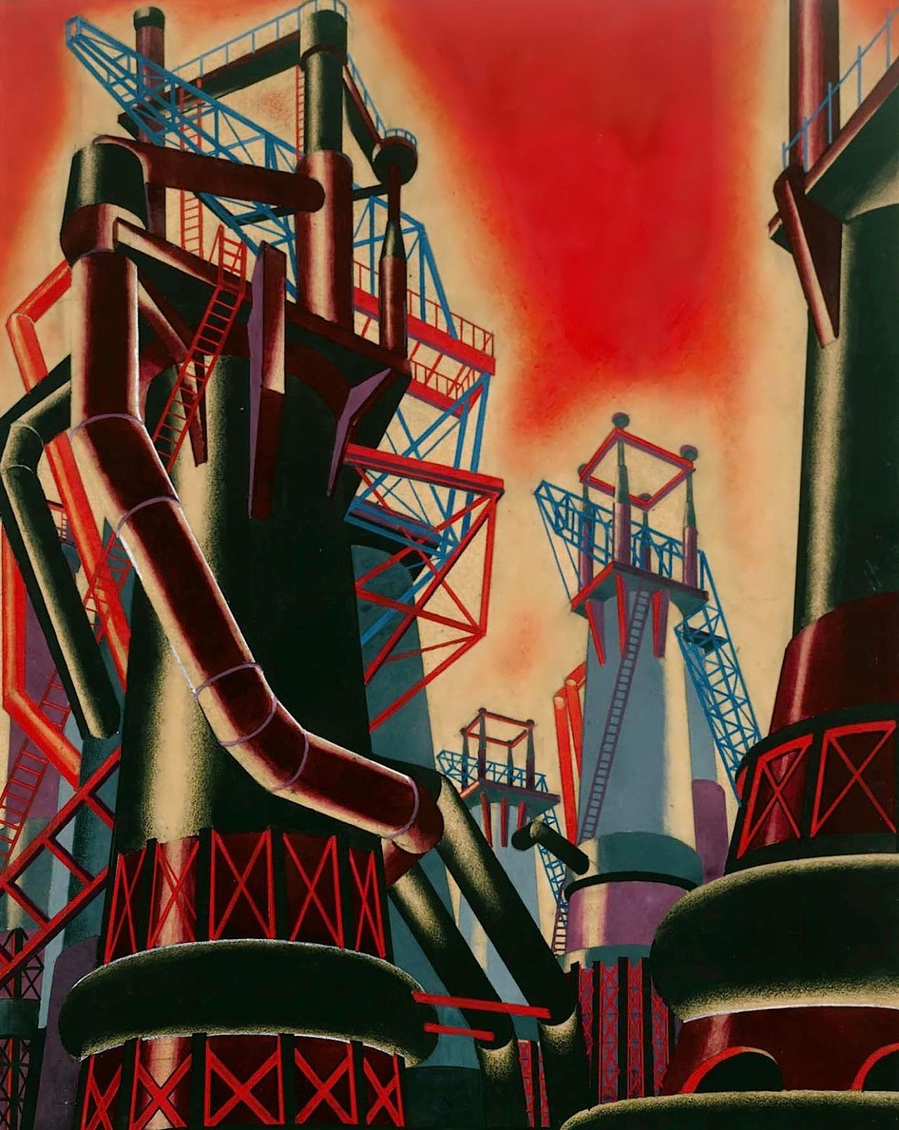 Yakov Chernikhov, Fundamentals of Contemporary Architecture, 1930