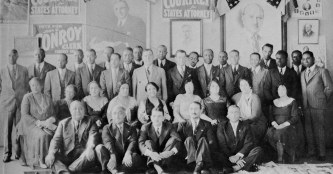 richard-wright-standing-6th-from-right-worked-in-1931-as-assistant-precinct-captain-for-b-doc-huggins-front-row-second-from-left-who-was-working-for-a-political-appointment-as-inspector-of-polic
