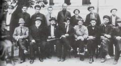 Д.Б.Рязанов среди преподателей Социалистической Академии