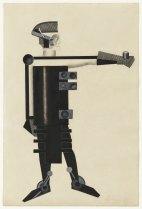 "Alexandra Exter ""Guardian of Energy"" (costume design for the film ""Aelita"" by Yakov Protozanov) 1924"