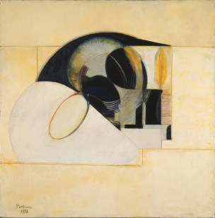 Antoine Pevsner The Eye 1923