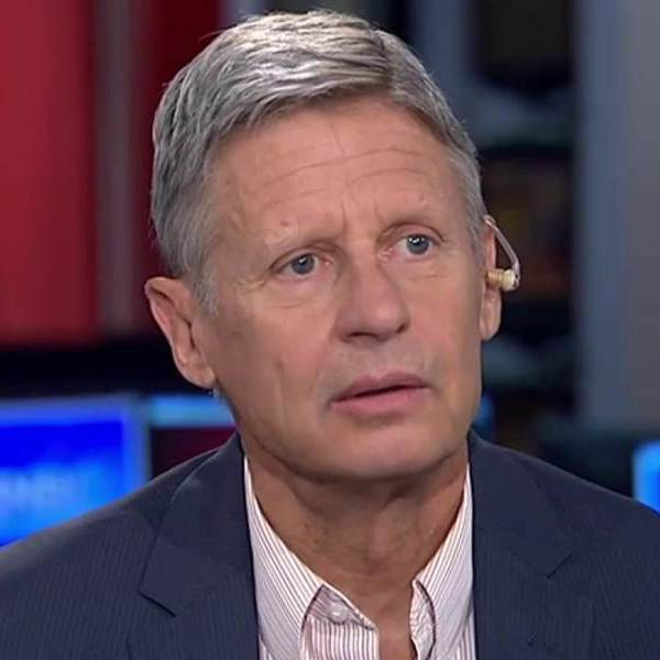 Gary Johnson, Syria, and the apocalypse