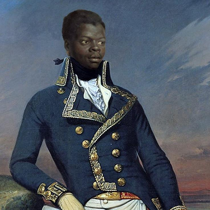 Toussaint Louverture, leader of the Haitian revolution