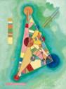 Wassily Kandinsky, Bunt Im Dreieck (1927)