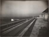 Lucia Moholy, Architect- Walter Gropius Bauhaus Building, Dessau, 1925-1926- Roof garden
