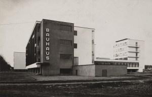 Lucia Moholy, Architect- Walter Gropius Bauhaus Building, Dessau, 1925-1926- South face
