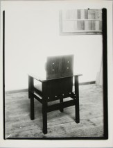 Lucia Moholy, Chair by Marcel Breuer Armchair (1922) a