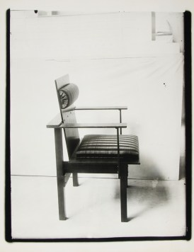 Lucia Moholy, Chair by Marcel Breuer Armchair (1922)