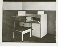 Lucia Moholy, Designer- Alma Buscher Infant Changing Table with a Table for a Bathtub 1