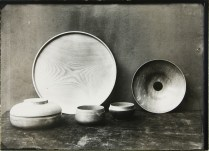 Lucia Moholy, Designer- Eberhard Schrammen Wooden Bowls and Containers (1922-1923) a
