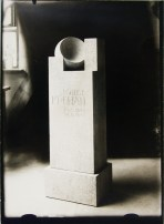 Lucia Moholy, Designer- Josef Hartwig Tombstone for Louise Krehan