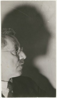 Lucia Moholy- Sir Ernest Barker, gelatin silver print, circa 1936
