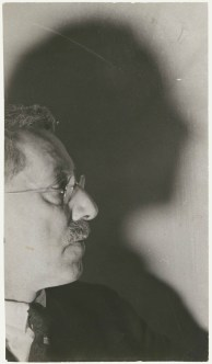 Lucia Moholy- Sir Ernest Barker, gelatin silver print, circa 1936
