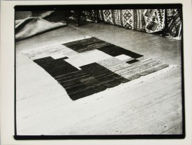Lucia Moholy, Textile- Unidentified Artist Rug 1