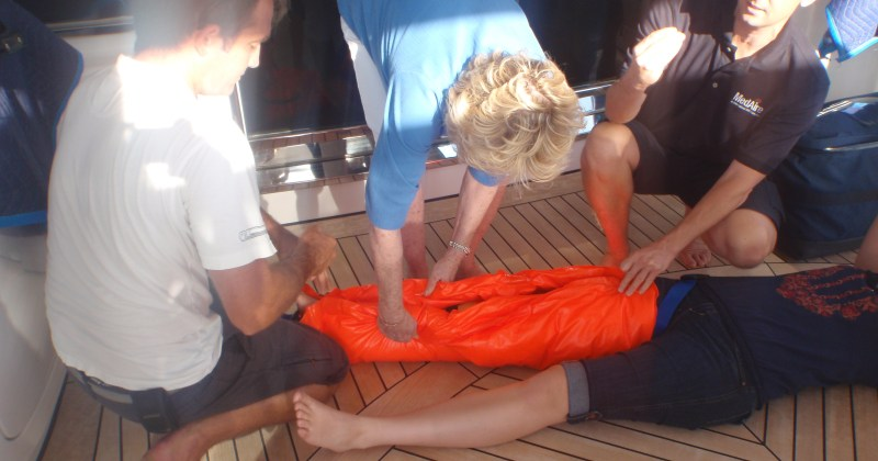 First Aid Onboard