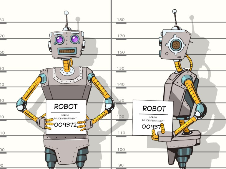chatbot in jail, chatbot, arrested