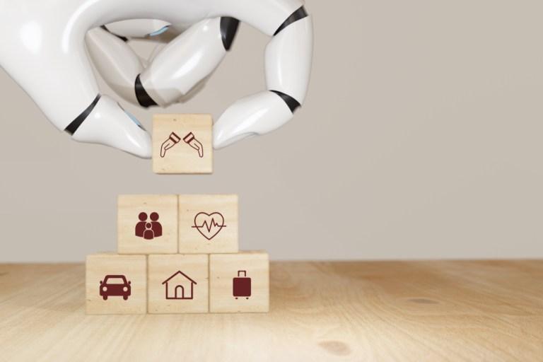 insurance chatbot, AI, bots