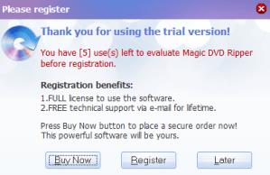 magic dvd ripper-start