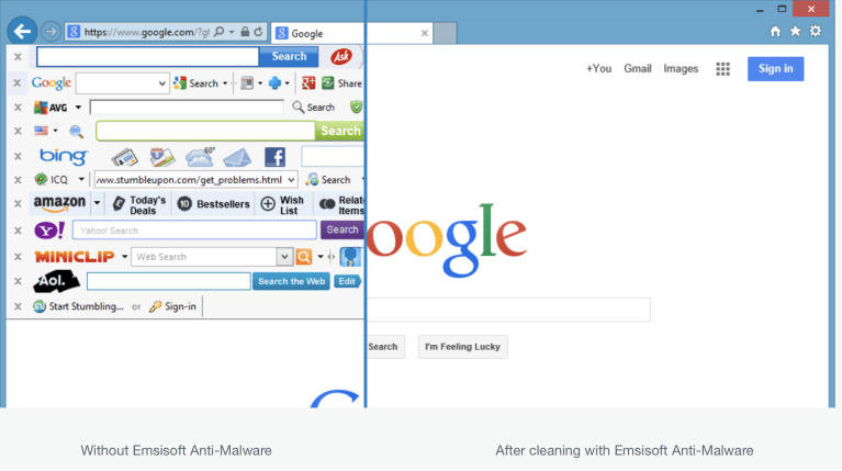 Emsisoft Anti Malware Browser Cleanup