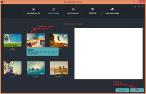 wondershare video editor easymode theme