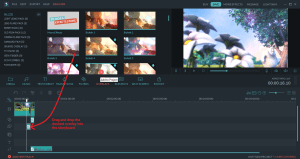 wondershare video editor overlay
