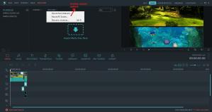 wondershare video editor record