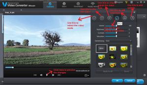 wondershare video converter convert editsettings