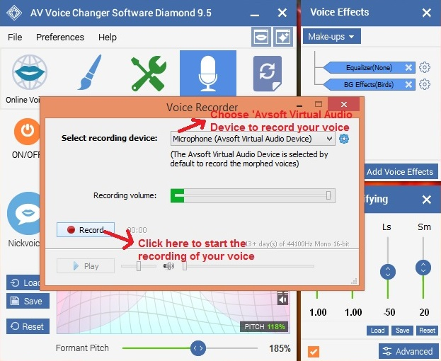 AV Voice Changer Coupon – Change Your Voice from Baby to