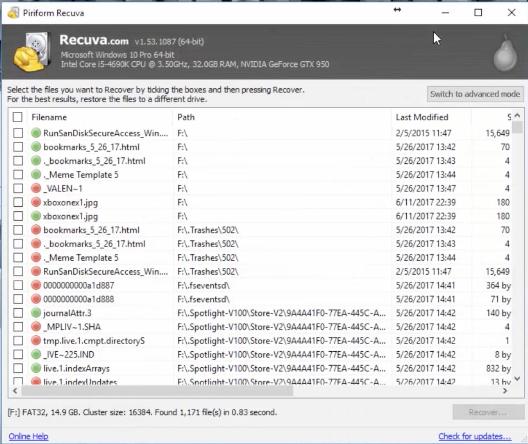 Recuva Review and Demo - Got Lost or Deleted Files? Use This