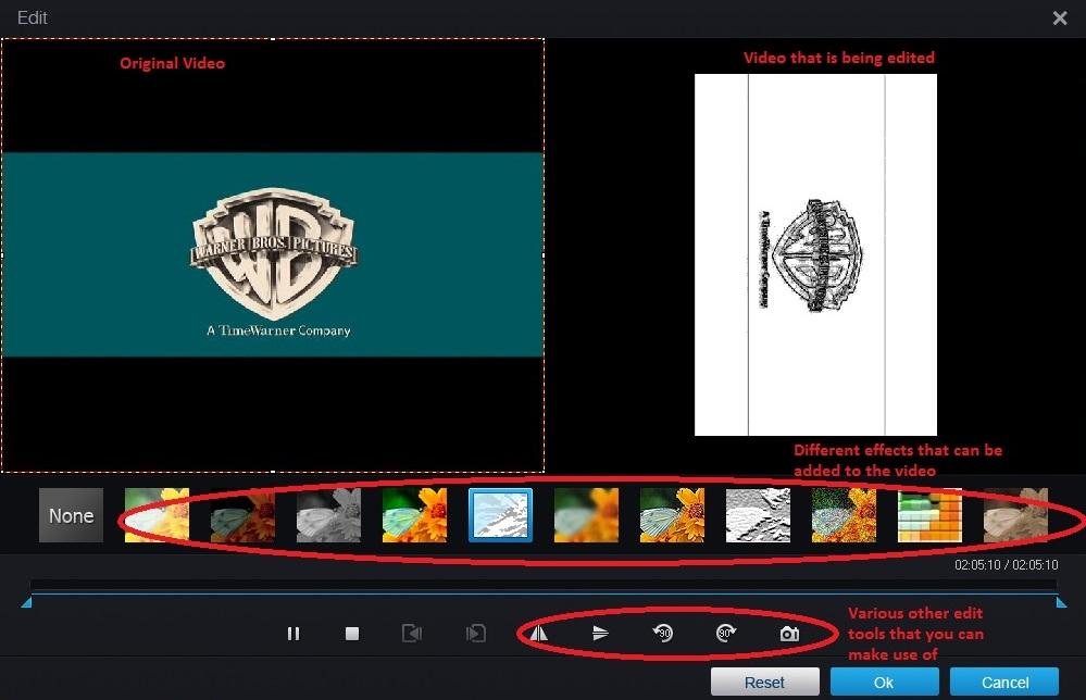 Wonderfox DVD Ripper edit screen