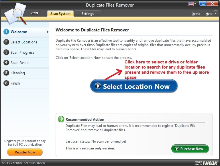 Advanced System Optimizer Duplicate Files
