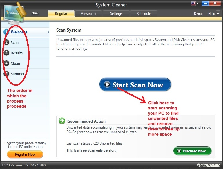 Advanced System Optimizer System Cleaner