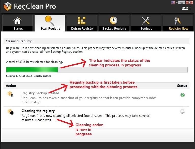 RegClean Pro fix issues