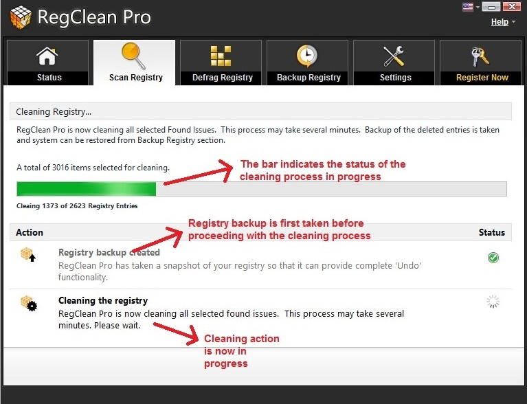 RegClean Pro fix issues