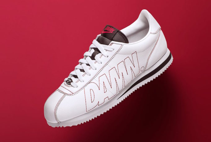 During Monday's NCAA National Championship game between Bama and Georgia, Kendrick  Lamar debuted his signature Nike Cortez Kenny 1 DAMN, the first official ...