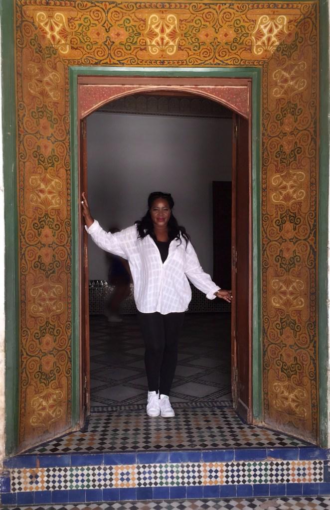 Bahia Palace in Marrakech Morocco