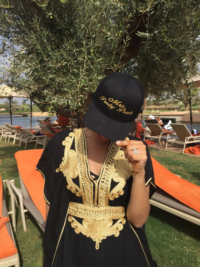 Mrs Party Prak at the Fairmont Hotel Marrakech
