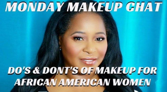Lavonne and Mathias Monday Makeup chat