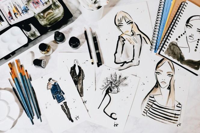 Illustration Tools Johanna Armstrong La Femme JoJo