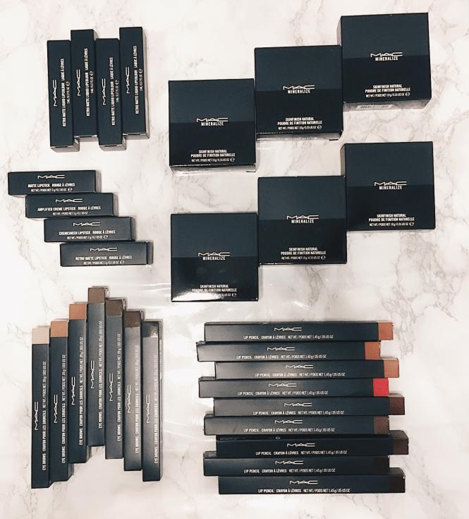 MAC Cosmetics PR Pacakage