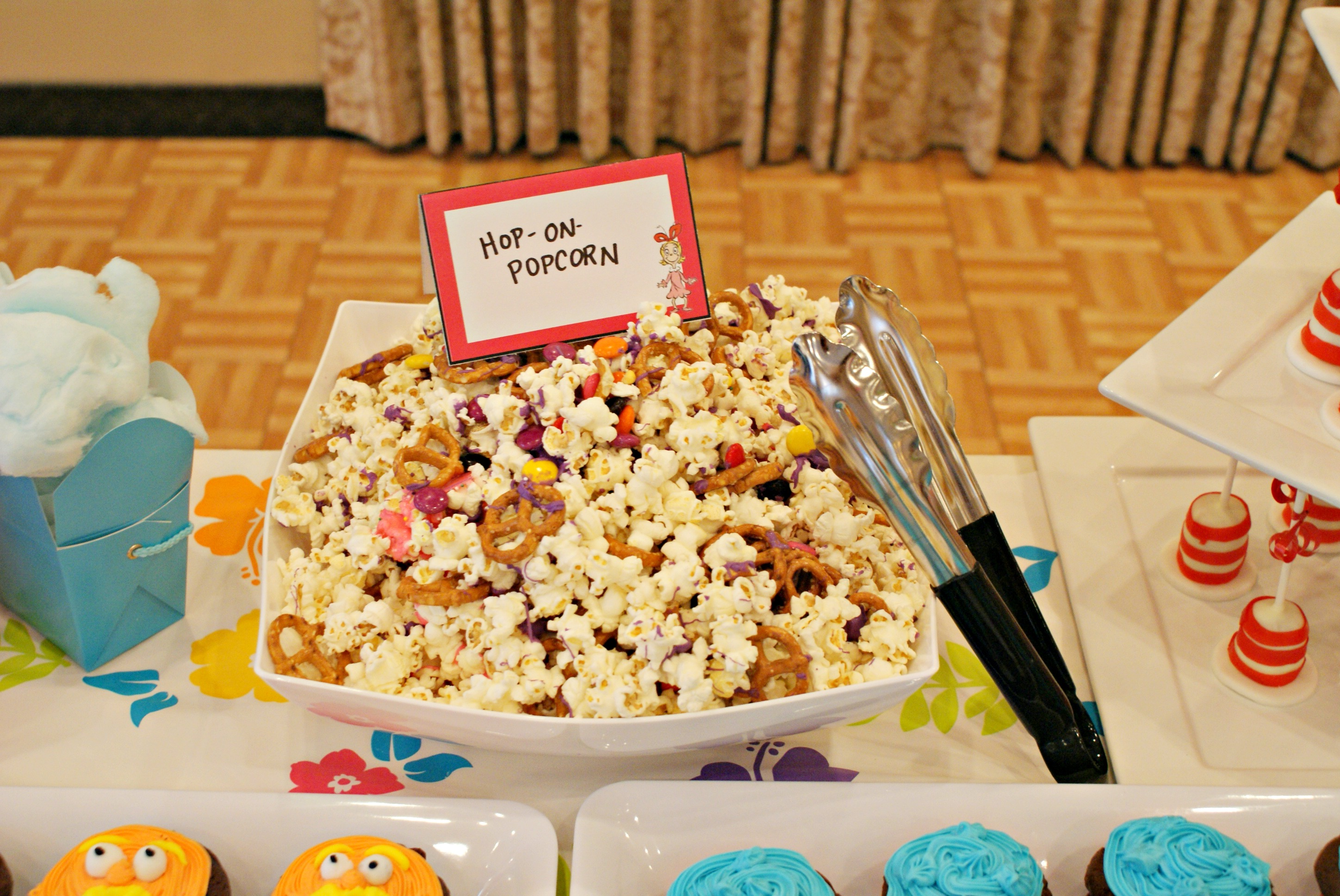 Dr Seuss Themed Baby Shower