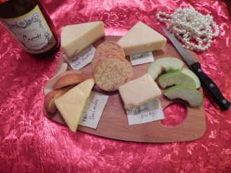 My cheese board