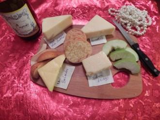My cheese board