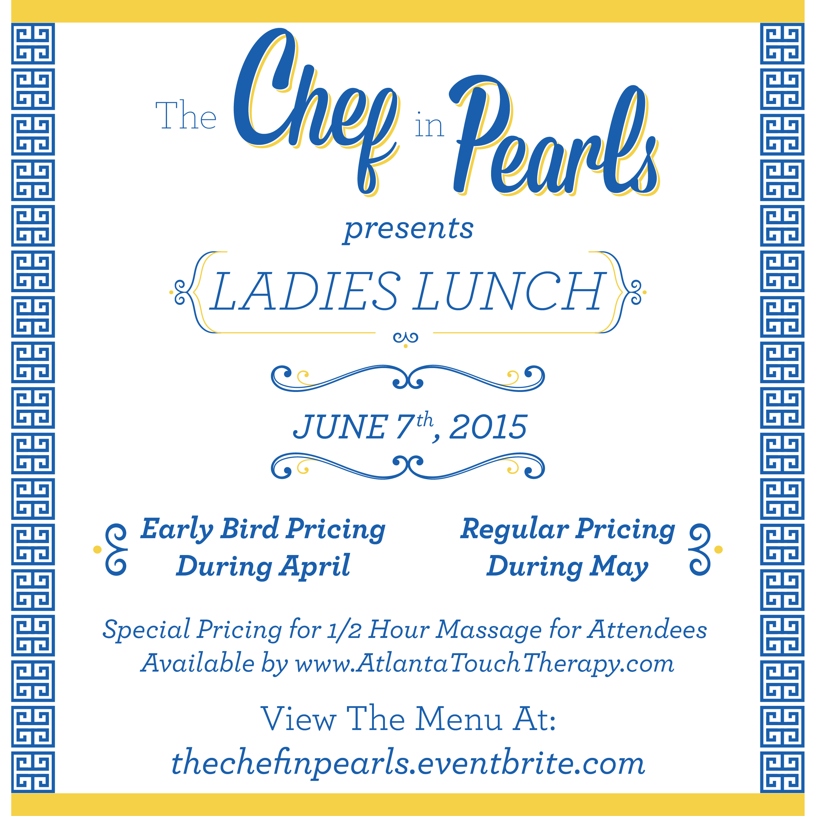Summer Edition….Ladies Lunch