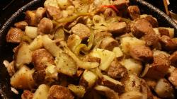 Sausage and Potato Hash