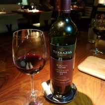 Our bottle of Malbec