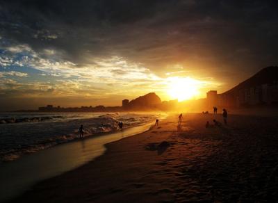 Sunset in Brazil - Justin Warner