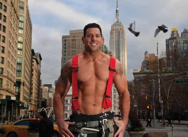 Peter Geoganes- NYC Firefighters Calendar - 2018