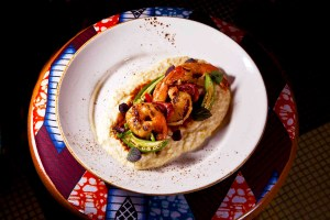Shrimp and Grits by Chef Edward Brumfield. Photo by Battman.