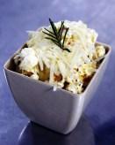 Complimentary rosemary lime pecorino popcorn for everyone!